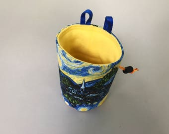 SALE - Starry Night Chalk Bag