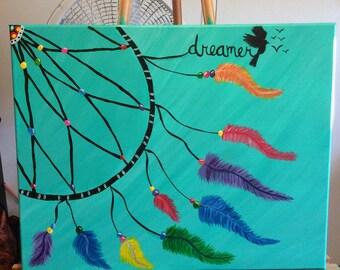 Dreamcatcher painting
