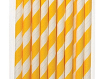 Set of 24 straws decorated for all your gourmet creations