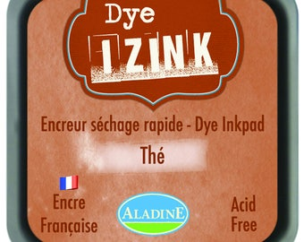 Izink Dye - Brown tea pad quick drying