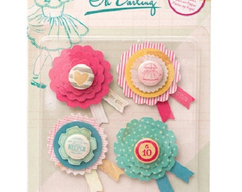 "Paper - Collection ""Oh Darling"" embellishments"