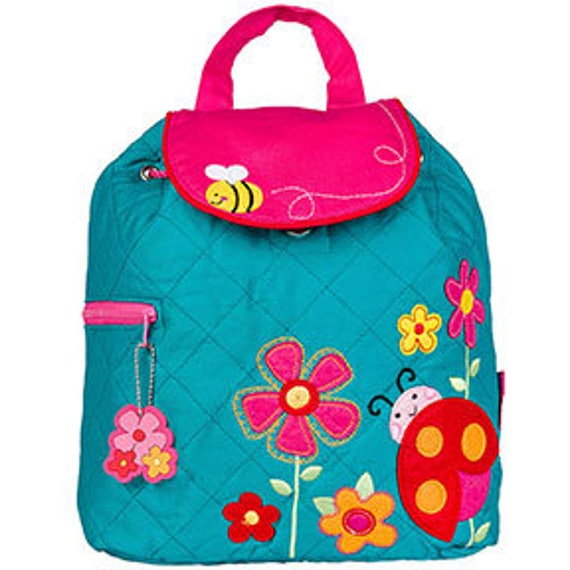 Stephen Joseph Quilted Ladybug Backpack