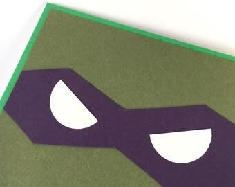 Rafael Teenage Mutant Ninja Turtles card