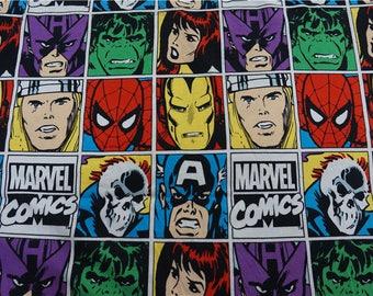 "100x170cm/39""x67"" The Avengers Superhero Hulk Captain America Spiderman Iron Man Cotton Lycra Knit Marvel Comics Fabrics"