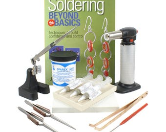Advanced Soldering Kit with Soldering Paste and Butane Torch - KIT-1770