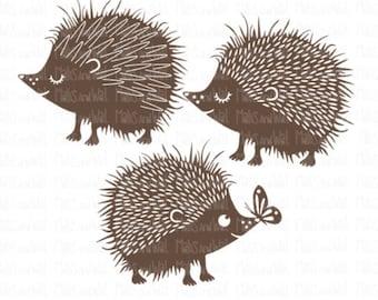 Hedgehog svg/png/dxf cricut/silhouette digital cutting file/woodland svg/animal svg/svg cut/cute hedgehog svg/hedgehogs svg/hedgehogs/HTV