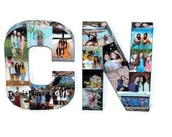 3d picture frame photo letter collage gift children 39 s. Black Bedroom Furniture Sets. Home Design Ideas
