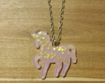 Unicorn Necklace lilac / kids / whimsical / fashion