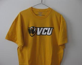 VCU Rams t-shirt Virginia Commonwealth University shirt Adult Large