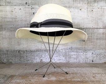 Hat Stand Wig Stand Hat Display Hat Holder Hat Shaper Store Hat Display Tree Mid Century Hat Form Hat Display Stand Folding Hat Stand