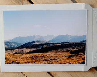 Sierra Nevada, Kings Canyon near Forester Pass, Landscape 35mm photo print