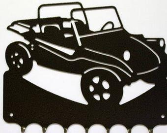 Hangs 26 cm pattern metal keys: Buggy VW MANX