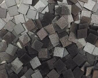 Resin mosaic, Sparkle effect, Smoke pearl