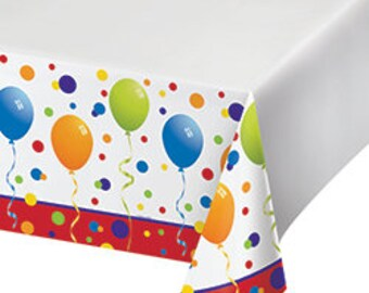My Party Tablecloth / birthday party / carnival/ circus