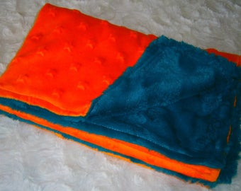 Child's blanket with minky fur
