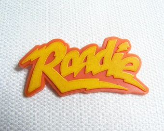 Vintage Early 80s Roadie Movie Film (1980) Promotional Pin / Button / Badge