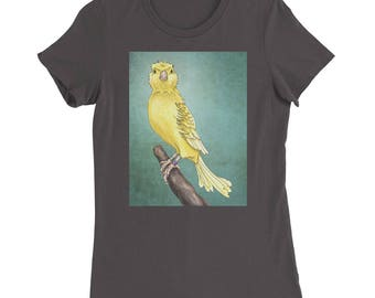 Women's Waterslager Canary T-Shirt - Women's Slim Fit