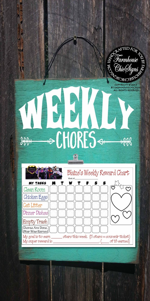 chore chart, chore board, kids chore chart, chore list, weekly chore chart, chores, weekly chore, 309