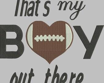 Football Sport machine embroidery design boy/girl