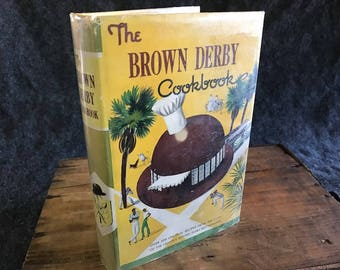 Rare The Brown Derby Cookbook state first edition