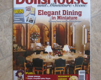 Dolls House and Miniature Scene Magazine - Issue 215 - May 2012