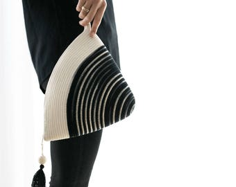 Handle Clutch / Handbag / Purse