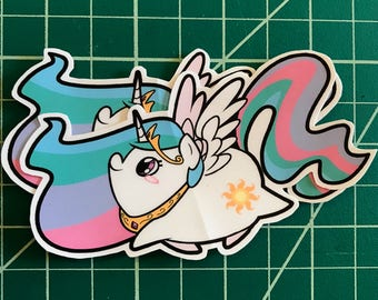 Pony Chubs! Celestia Sticker