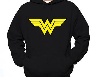 Wonder Woman Hoodie, Wonder Woman Sweatshirt, Wonder Woman Shirt, Wonder Woman - Comic Book Shirt Marvel Shirts Wonder Woman Superman