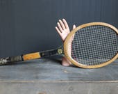 Vintage Tennis Racket, Slazengers Tennis Racket, Tennis Racquet, Olympic Tennis Racket, Sports Decor, Man Cave Decor