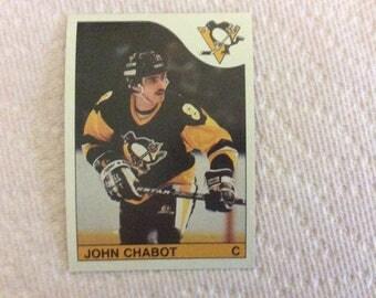 John Chabot - Hockey 85/86  - #244