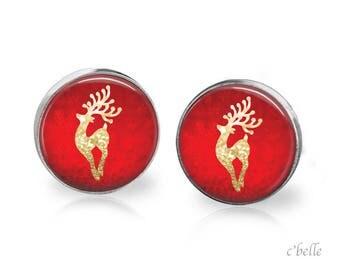 Christmas Earrings Winter-3
