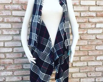 Plaid Gift, Kimono Duster, Kimono Jacket, Fall Cardigan, Kimonos, Kimono Cardigan, Kimono Vest, Gift for Her, Christmas Gift, Gift Ideas