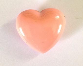 Bola musical heart pink light 25x12mm
