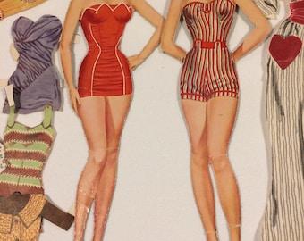 Vintage Elizabeth Taylor Paper Dolls