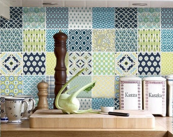 Kitchen Tiles Stickers tile vinyl stickers for kitchen bath stairs orsnazzydecal