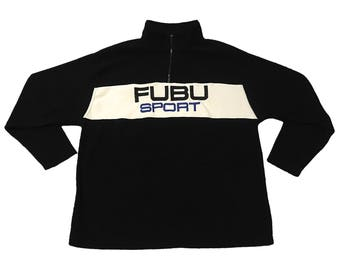 Vintage Fubu Sport Fleece Jacket