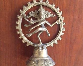Vintage Dancing Shiva Figure