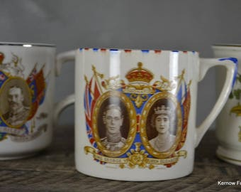 Collection Of Commemorative Cups
