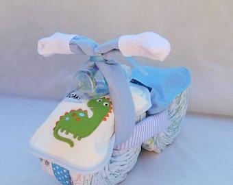Diaper Bike (Motorcycle) - Blue