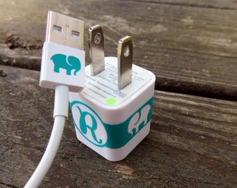 Animal iPhone Charger Decal