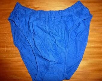 Blue work pants moleskine