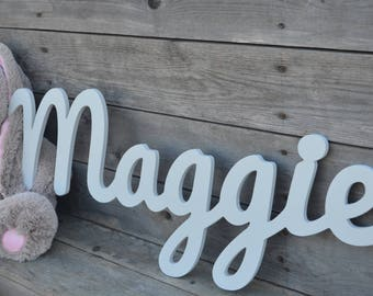 Wood Wall Words, Wall Hanging Words, Wood Names, Nursery Wall Decor, Wedding
