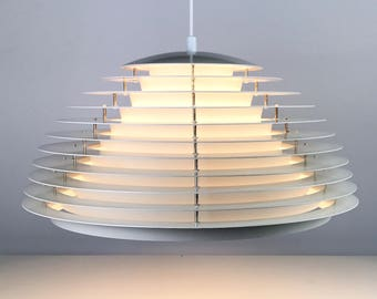 Brilliant scandinavian ceiling light by Fog Morup - modernism hanging lamp - retro ligthting - pendant.