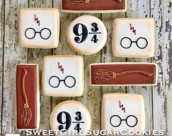 Harry Potter Sugar Cookies(12)