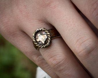 Texas ring - oval