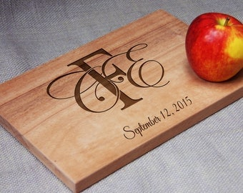 Personalized Cutting Board, Cheese Board, Christmas Gift, Wedding /Anniversary/ Birthday Gift, Housewarming Gift, Gift for Her or for Him.