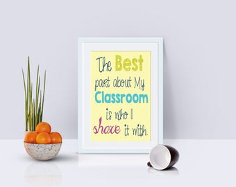 Classroom Motivation Poster **Digital File**