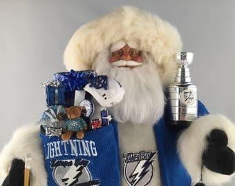 Tampa Bay Lightning Santa Claus