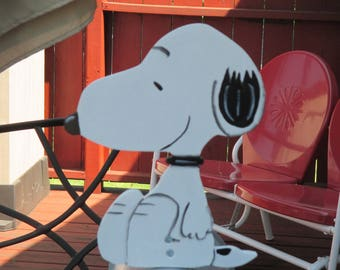 Snoopy Mailbox Greeter