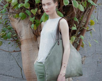 extra large tote bag with pockets - tote with pockets - oversized tote bag - large shoulder bag - oversized bag - large bag - HOBO